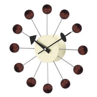 Hans Andersen Home Walnut Ball Clock