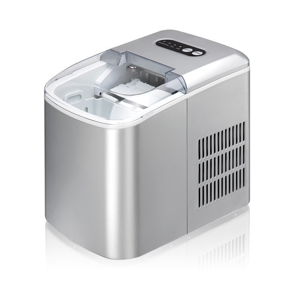 Large Capacity Countertop Ice Maker : SPT Silver 1.3-pound Capacity Portable Ice Maker - Free Shipping Today ...
