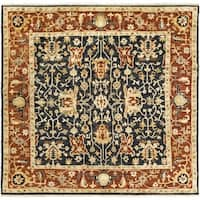 Hand-Knotted Davon Border Indoor Area Rug - 8'