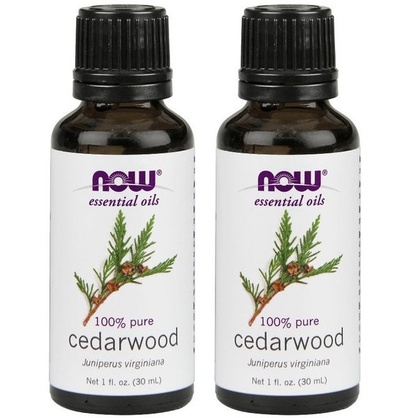 Now Foods Cedarwood 1-ounce Essential Oils (Pack of 2). Opens flyout.