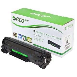 ECOPLUS HEWLETT PACKARD 83A (CF283A) Toner Cartridge, (BLACK)