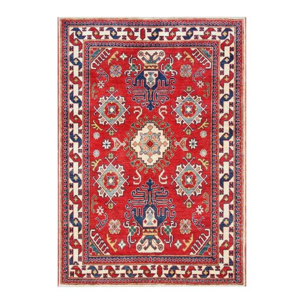 Herat Oriental Afghan Hand-knotted Tribal Kazak Wool Rug