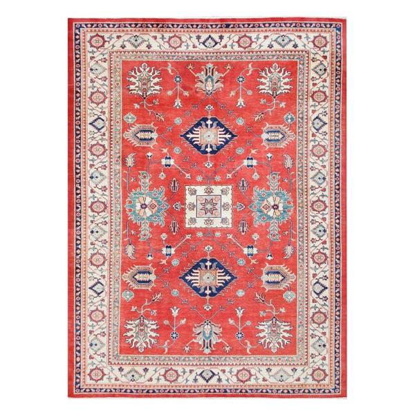 Herat Oriental Afghan Hand-knotted Tribal Kazak Wool Rug (8'3 x 11'4)