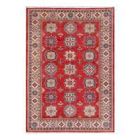 Handmade Herat Oriental Afghan Tribal Kazak Wool Rug  - 10'3 x 14'5 (Afghanistan)