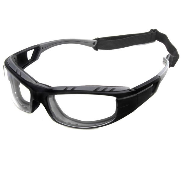 Hot Optix Wrap Around Motorcycle Glasses with Removable Foam Insert