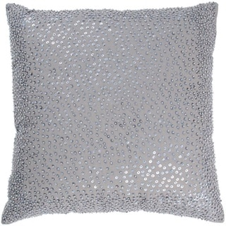 Rizzy Home 18-inch Beaded Accent Pillow
