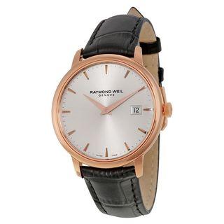 Raymond Weil Men's 5488-PC5-65001 'Toccata' Black Leather Watch