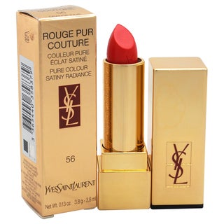 Yves Saint Laurent Rouge Pur Couture Pure Colour Satiny Radiance Lipstick # 56 Orange Indie