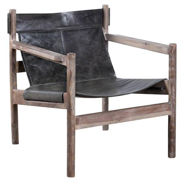 Enjoyable Shop Handmade Water Buffalo And Wood Sling Chair India Cjindustries Chair Design For Home Cjindustriesco