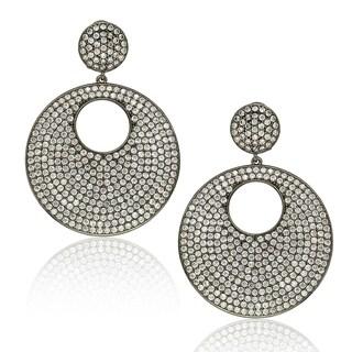 Suzy Levian Sterling Silver Cubic Zirconia Earrings