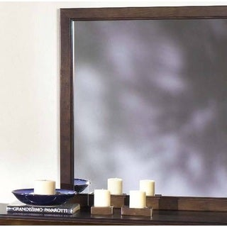 Casual Pine Traditions Mirror - Brown