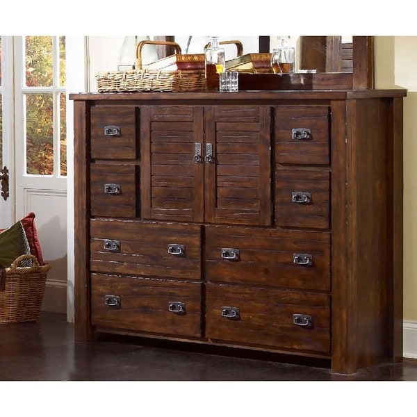 Trestlewood Pine Dresser - Free Shipping Today - Overstock.com ...