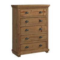 Willow Pine Distressed Pine Chest