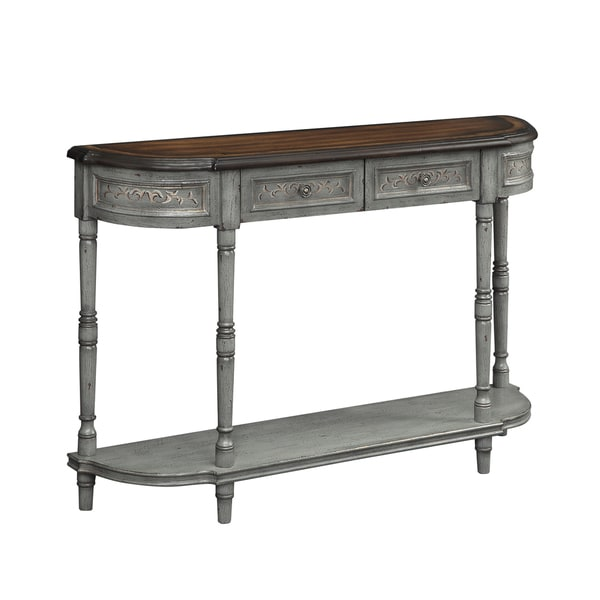 Christopher Knight Home Two Drawer Console Table