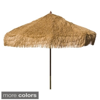 9-foot Palapa Tiki Wooden Umbrella Patio Pole