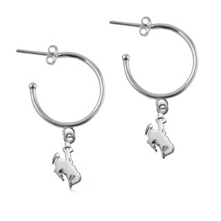 Wyoming Sterling Silver Hoop Earrings