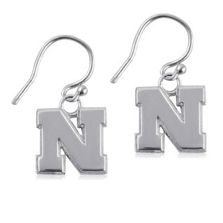 Nebraska Sterling Silver Dangle Earrings