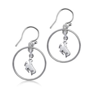 Wyoming Sterling Silver Open Drop Earring