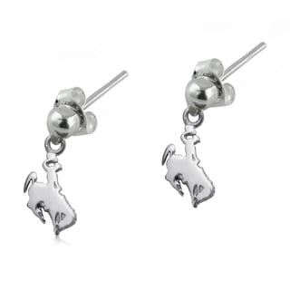 Wyoming Sterling Silver Post Dangle Earrings
