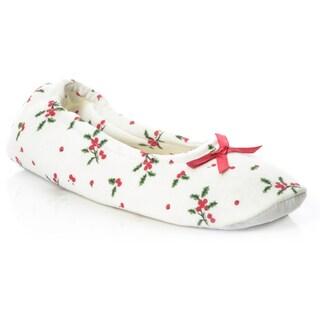 La Cera Women's Christmas Morning Slipper (3 options available)