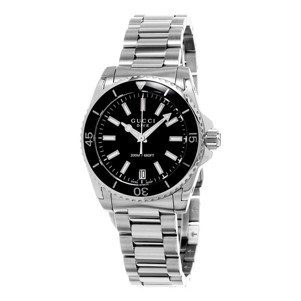 a310540d966 Shop Gucci Women s  Dive  Stainless Steel Watch - Free Shipping ...