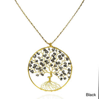 Handmade Tree of Life Brass Handmade Necklace (Thailand)