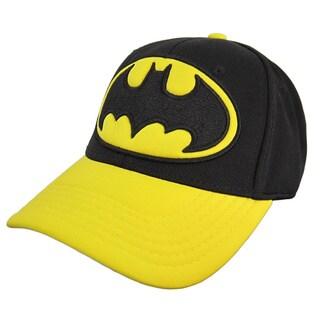 Classic Black/ Yellow Officially Licensed Batman Baseball Cap
