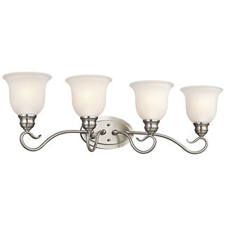 Kichler Lighting Tanglewood Collection 4-light Brushed Nickel Bath/Vanity