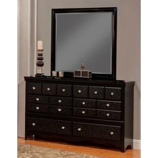 Sandberg Furniture Eva 6-drawer Dresser and Mirror