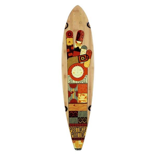 GoldCoast Origin Pintail Longboard Deck