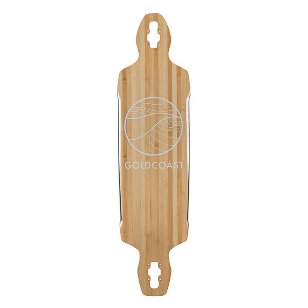 GoldCoast Classic Bamboo Drop Through Longboard Deck
