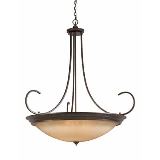 Lumenno LaCosta Collection 12-light English Bronze Large Pendant