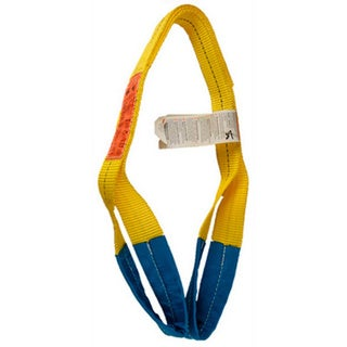ASC Industries 1-inch x 4-foot 2-ply Polyester Web Sling with 3100 Pound Vertical Limit