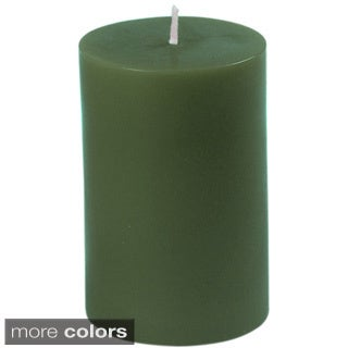 2 x 3-inch Unscented Pillar Candle (Pack of 24)