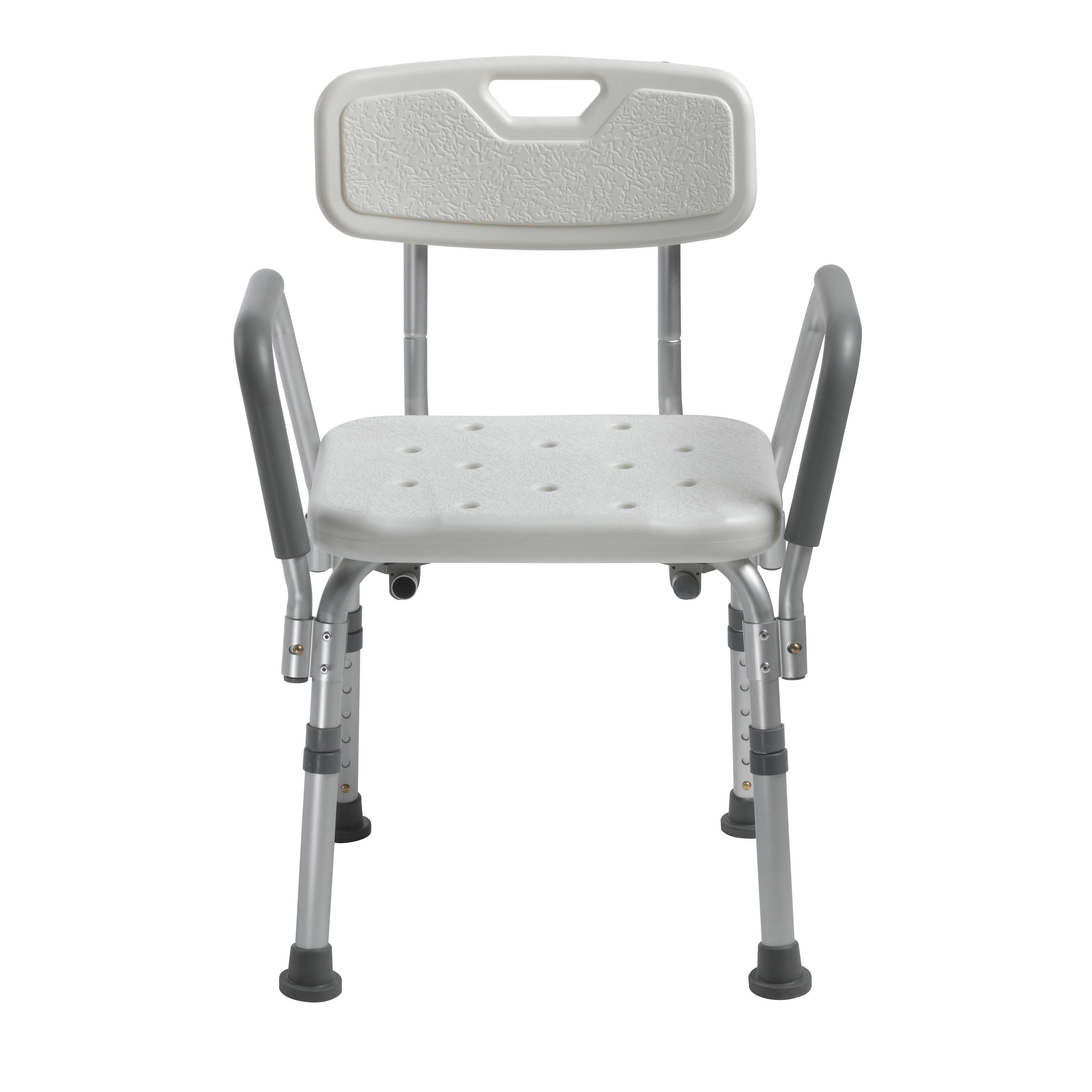 Drive Medical Knock Down Bath Bench with Back, and Padded...