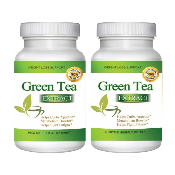 Shop Green Tea Extract For Weight Loss 120 Capsules Free