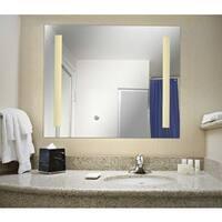 Design Craft Skylar 2 Light LED Mirror LG