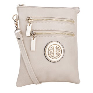 Mia K. Farrow MKF Collection Arabelle Vegan Leather Crossbody Handbag
