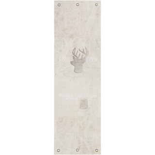 Hand-Crafted Devizes Animal Indoor Cotton Rug (2'6 x 8')