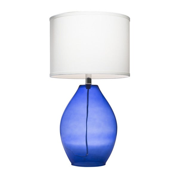 Kichler Lighting 1 Light Dark Blue Glass Table Lamp