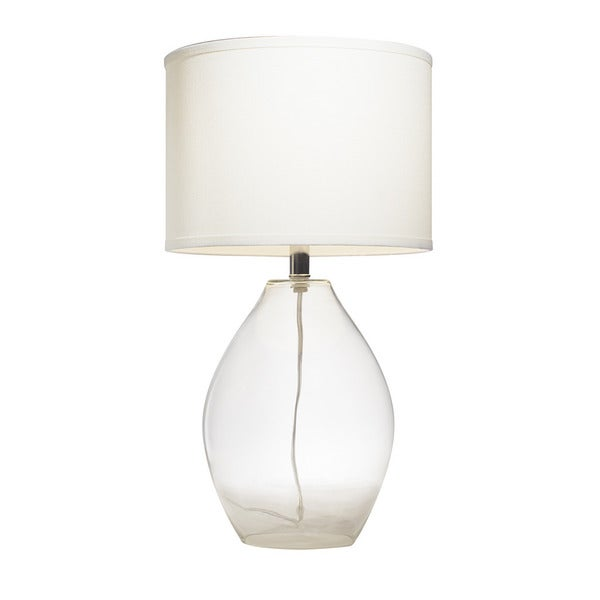 Kichler Table Lamps: Kichler Lighting 1-light Clear Glass Table Lamp,Lighting
