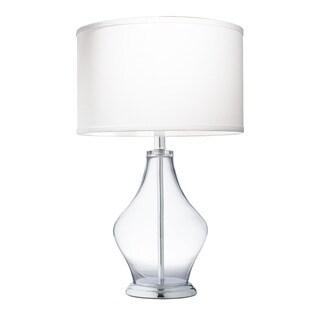 Kichler Lighting 1-light Clear Glass Table Lamp