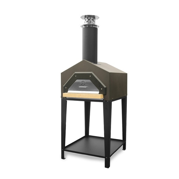 Americano Dark Roast Wood Burning Pizza Oven by Chicago Brick Oven