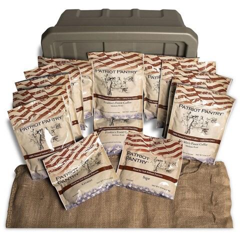 Augason Farms Patriot Pantry Instant Coffee Kit