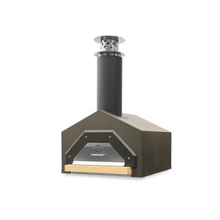Americano Dark Roast Counter Top Wood Burning Pizza Oven by Chicago Brick Oven