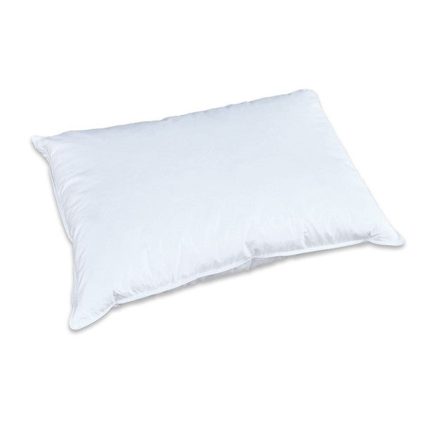 Creative Living Solutions Feather and Down Bed Pillow - White