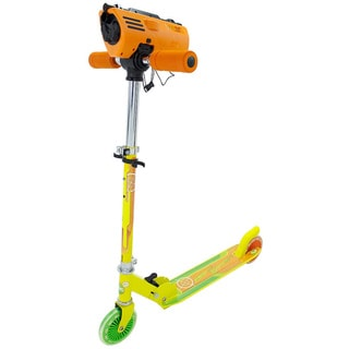 Zinc Attax Dart Blasting Scooter (Option: Yellow)