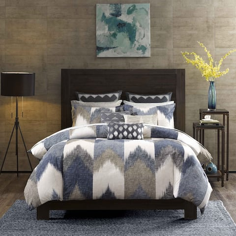 Carson Carrington Jonava 3-piece Cotton Comforter Set