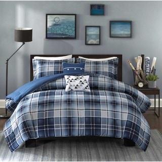 Link to Intelligent Design Dexter Blue Comforter Set Similar Items in Comforter Sets
