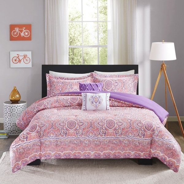 Intelligent Design Ruby 5-piece Comforter Set